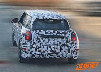MINI Electric facelift (2022 MINI Cooper SE) begins testing