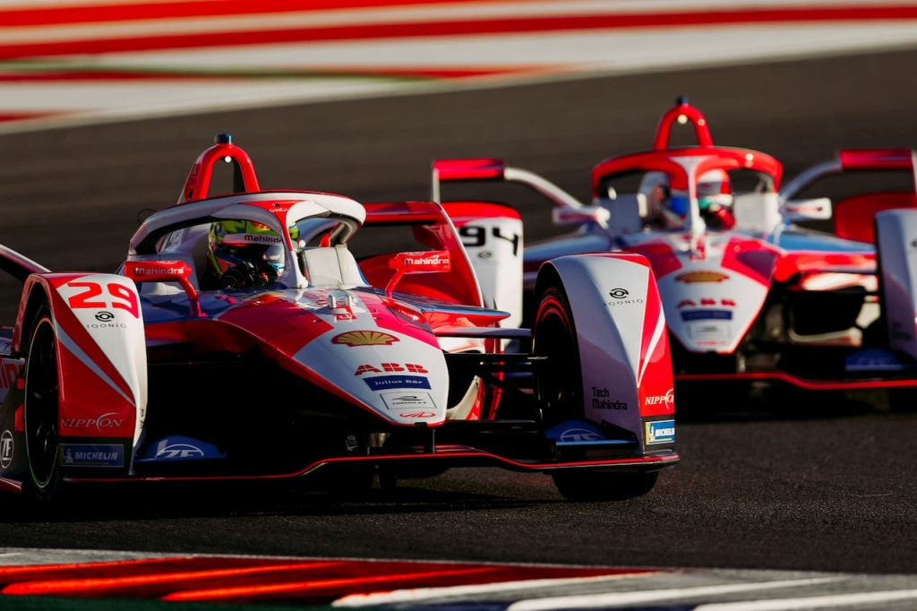 Alexander Sims Formula E Mahindra Racing 2021 in the car