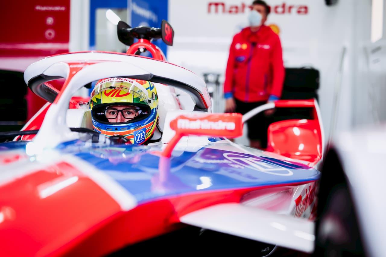 Alexander Sims Formula E Mahindra Racing 2021