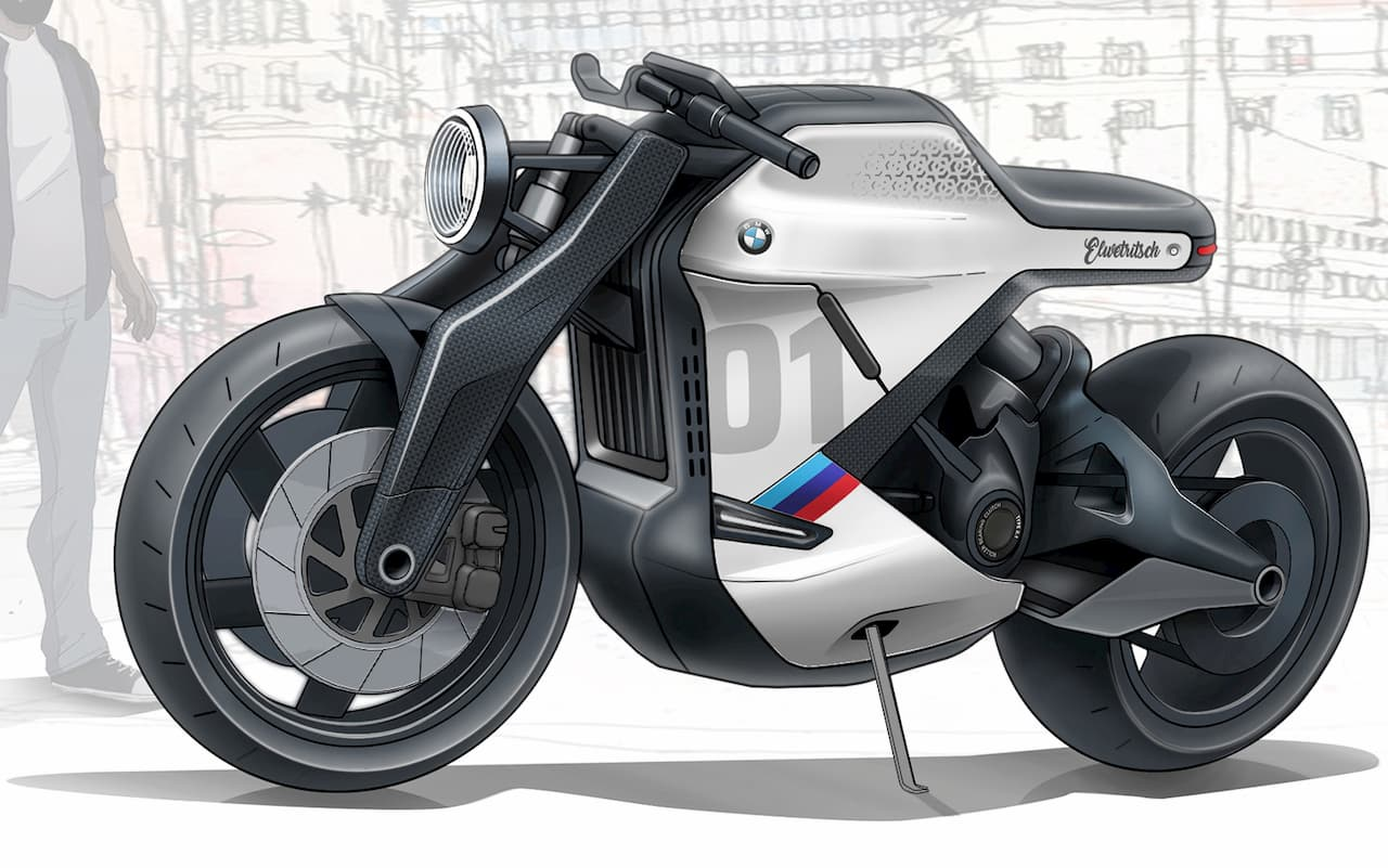 BMW electric bike concept Manu Mohan