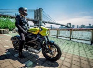 Harley-Davidson LiveWire front quarters live image
