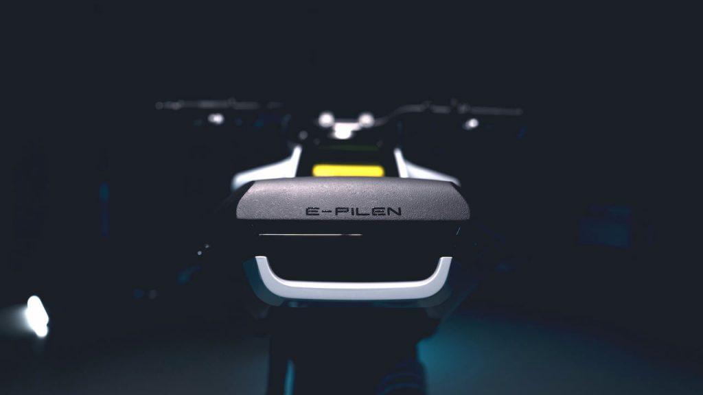 Husqvarna E-Pilen Concept grab bar teaser