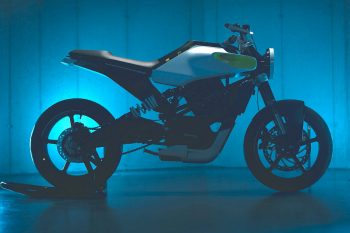 Husqvarna E-Pilen Concept with 100 km range teased [Video]