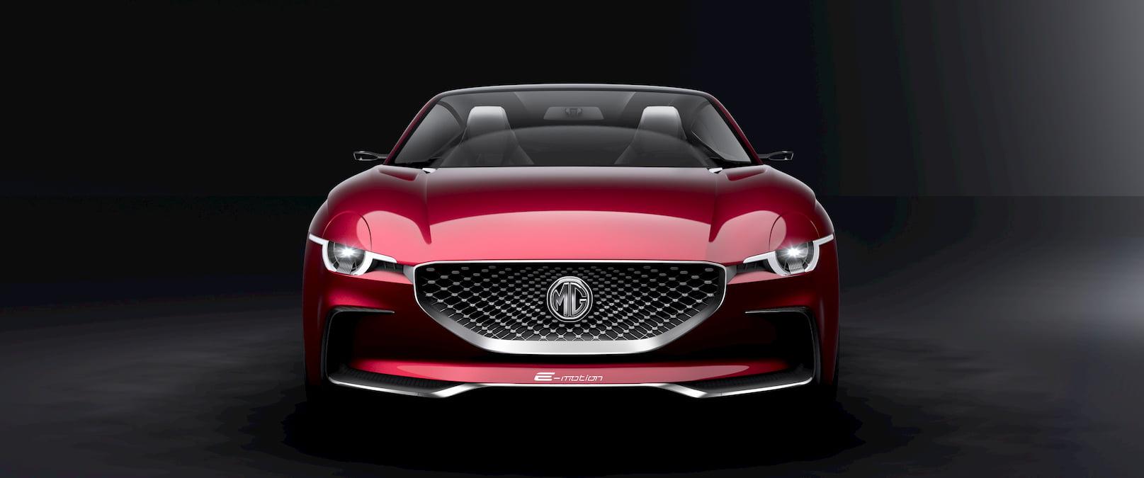 MG E-Motion concept front