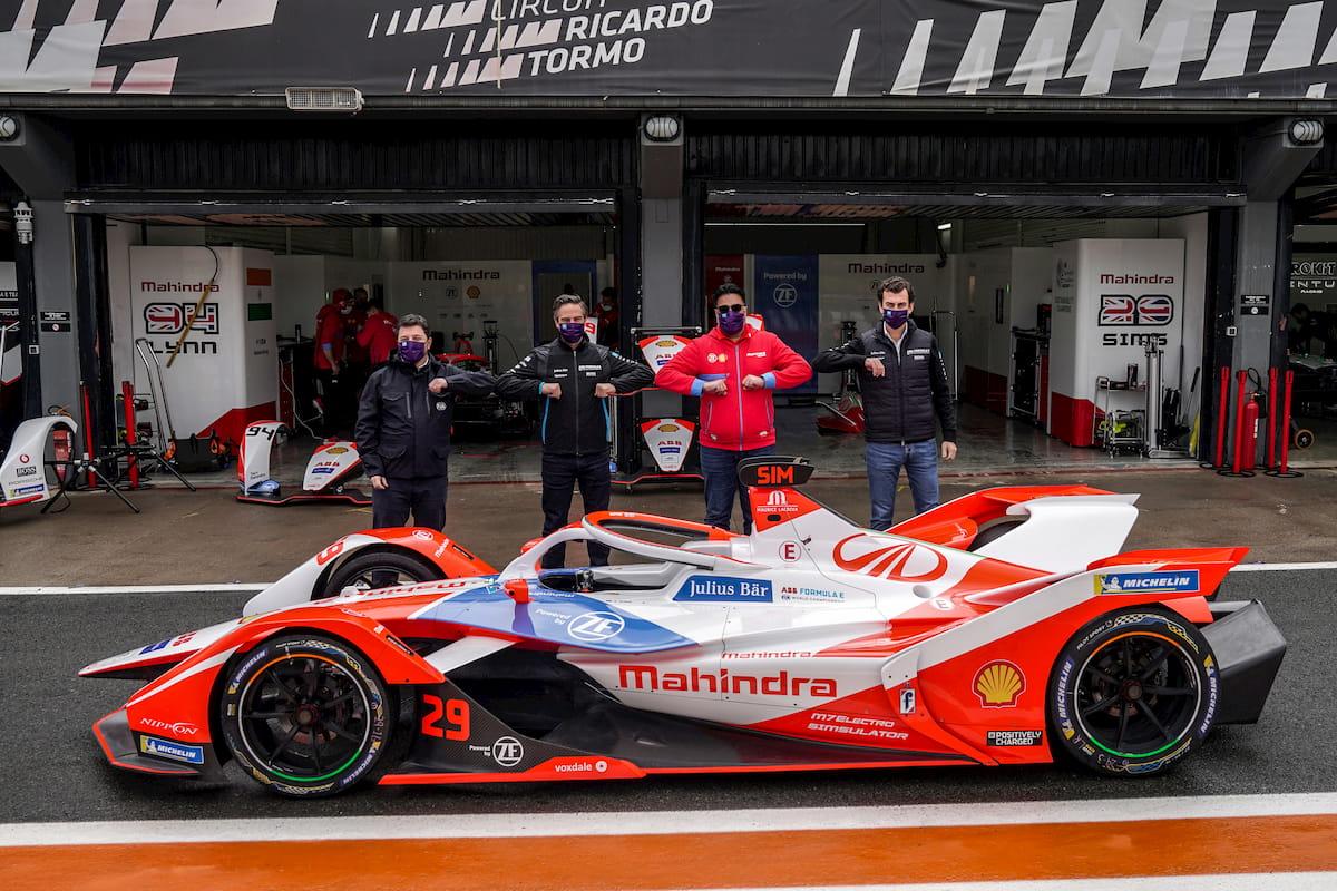 Mahindra M7 Electro Mahindra Formula E Valencia