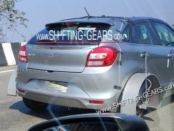 Possible Maruti Baleno Hybrid (full-hybrid) variant spotted