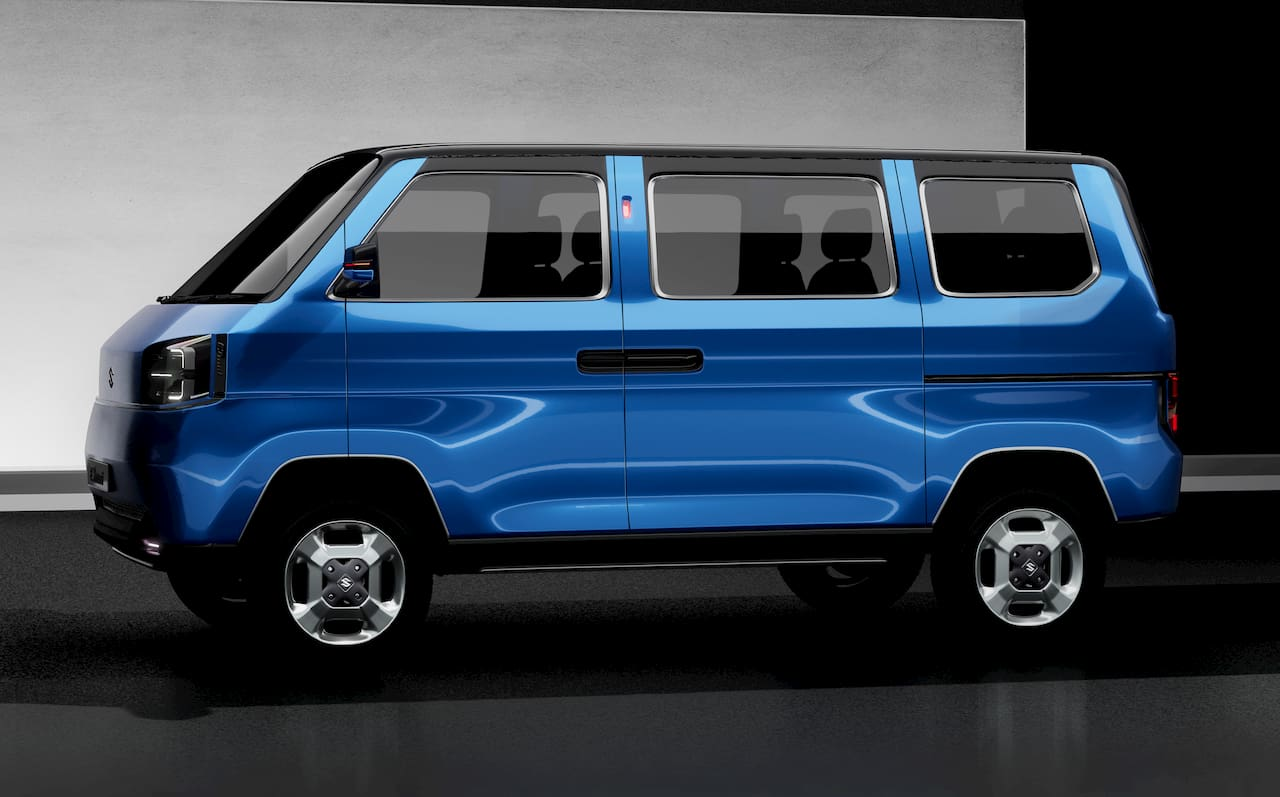 Maruti Omni Concept electric vehicle