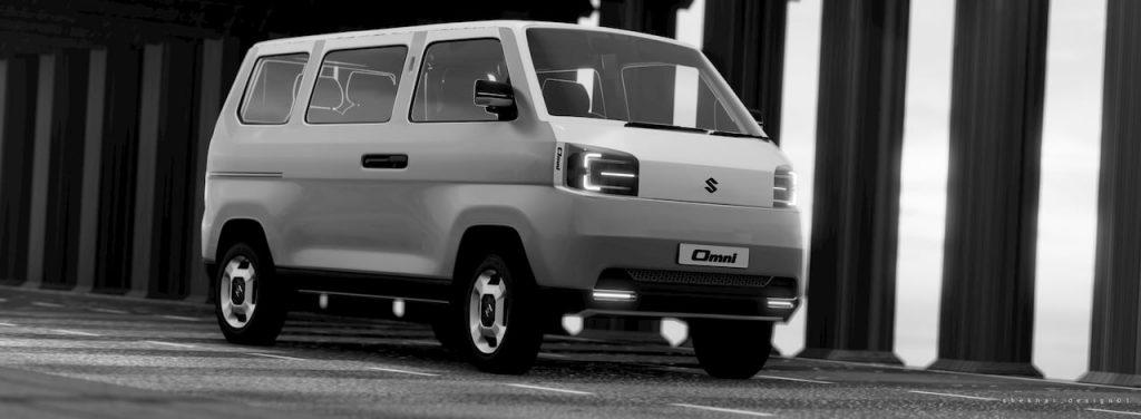Maruti Omni EV 2021 concept