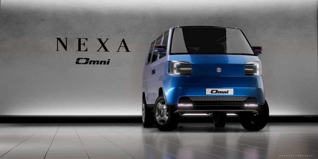 Maruti Omni EV 2021 concept front