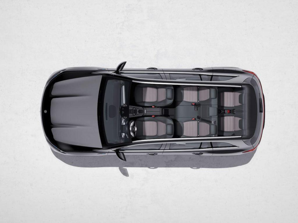 Mercedes EQB seating