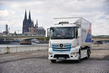 Daimler to launch its first electric truck in India
