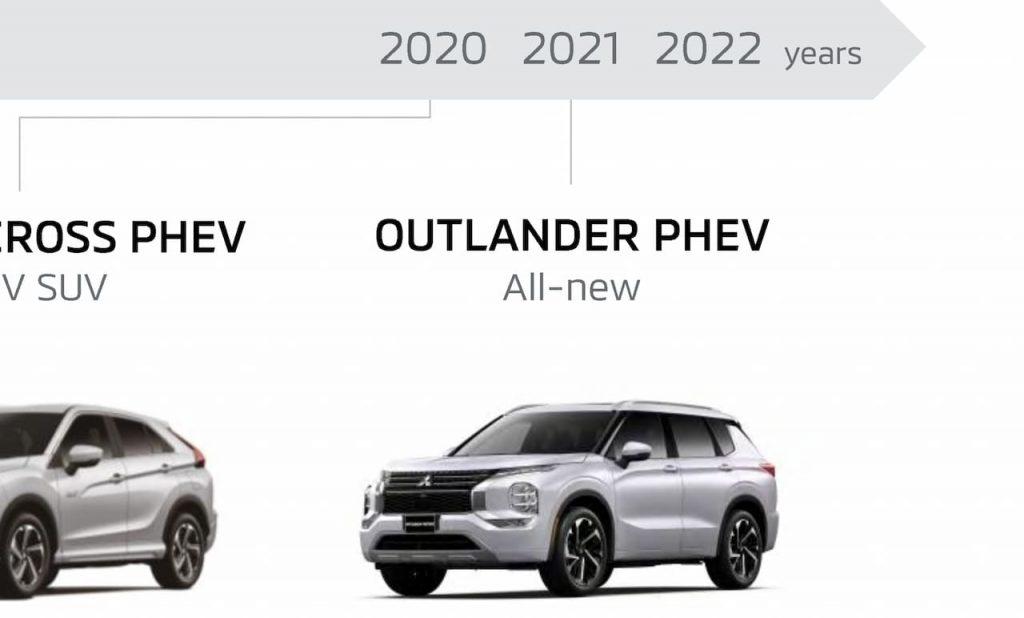 Mitsubishi Outlander PHEV 2022 confirmed