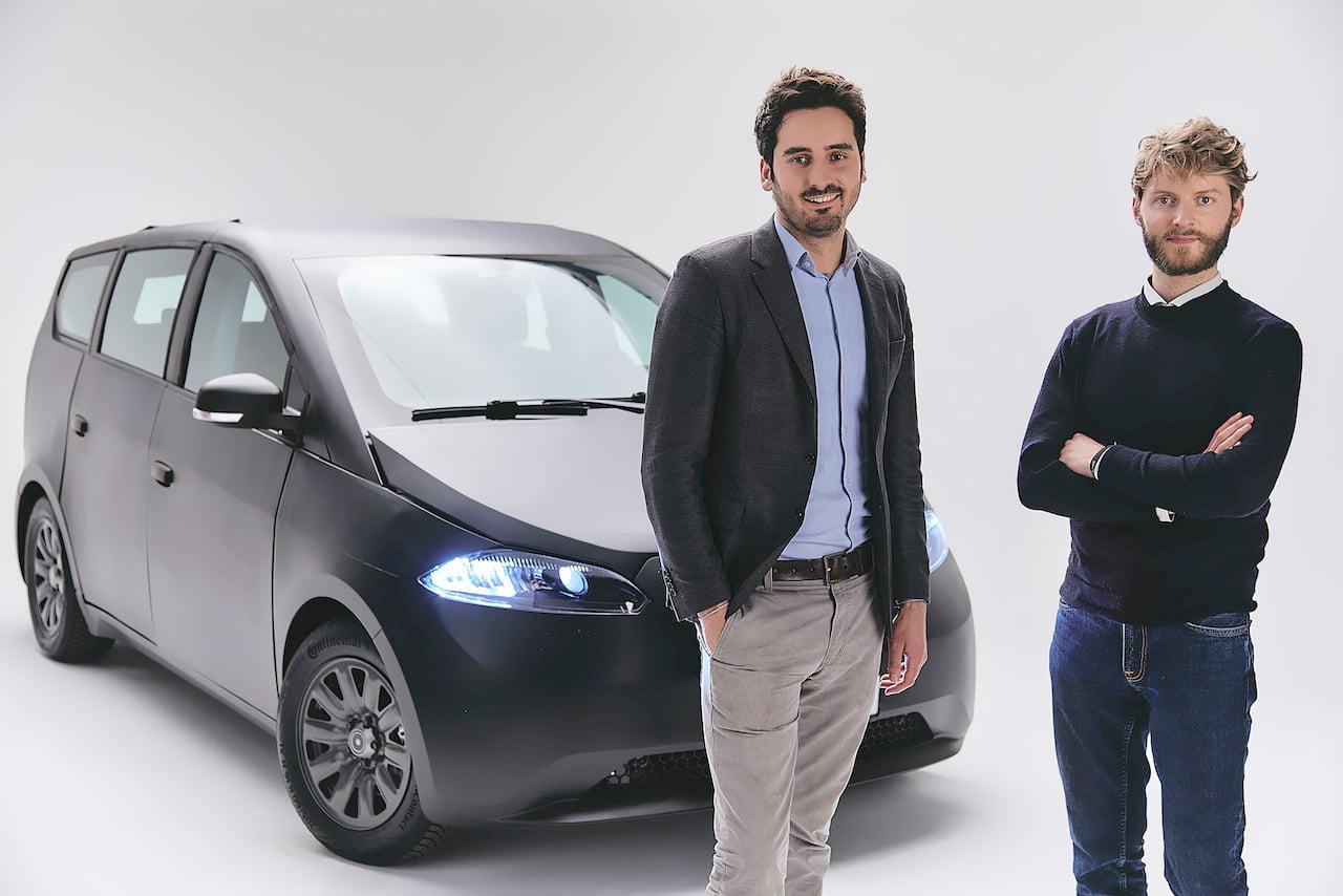New Sono Sion prototype 2021 founders