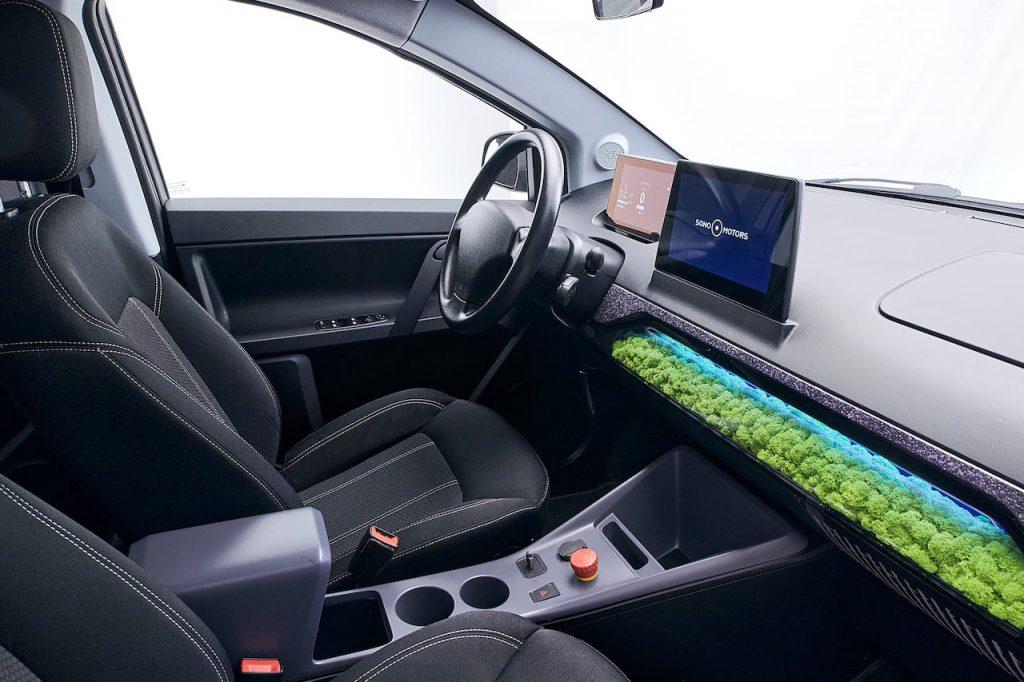 New Sono Sion prototype 2021 interior dashboard