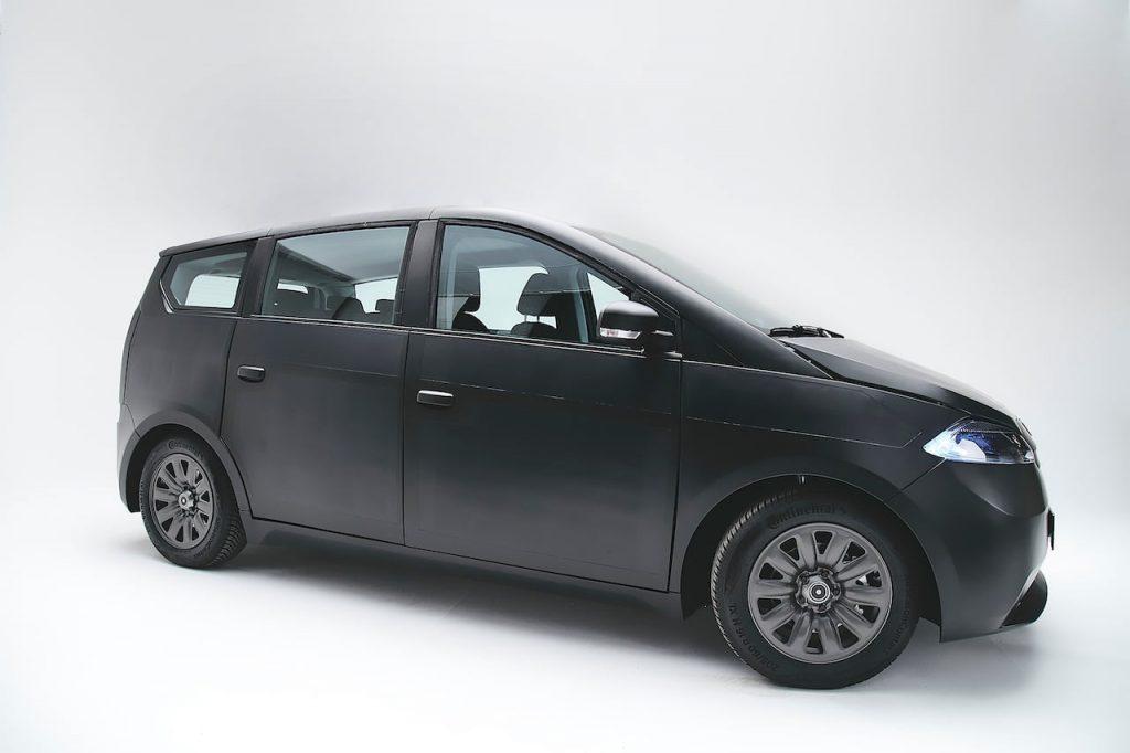 New Sono Sion prototype 2021 side profile