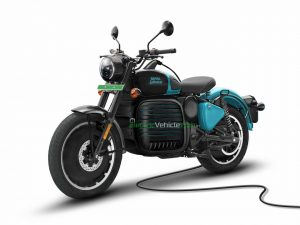 Royal Enfield electric bike based on the Classic rendering