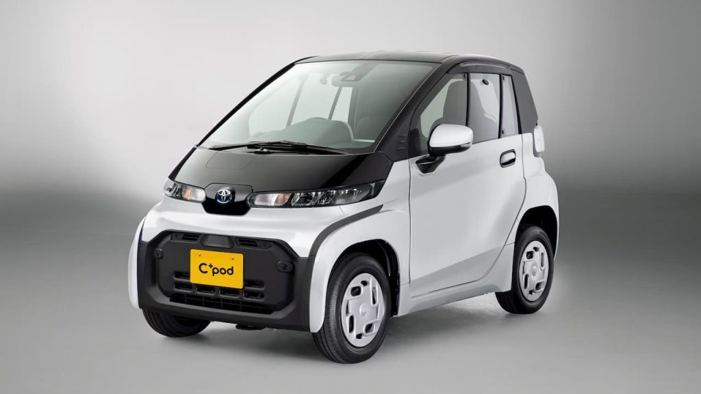 Toyota C+Pod front