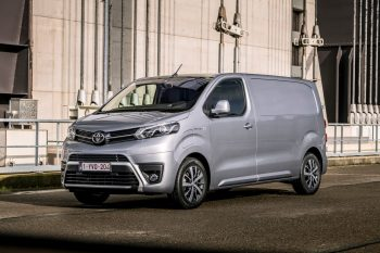 Toyota Proace Electric prices start at GBP 35,545