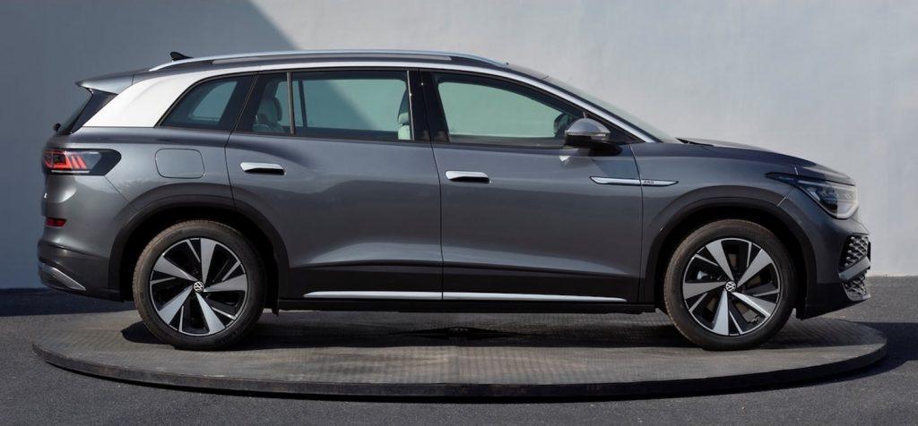 VW ID.6 X grey profile side