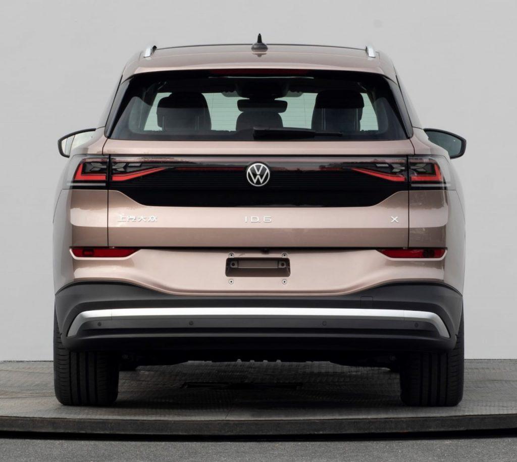 VW ID.6 X rear leaked