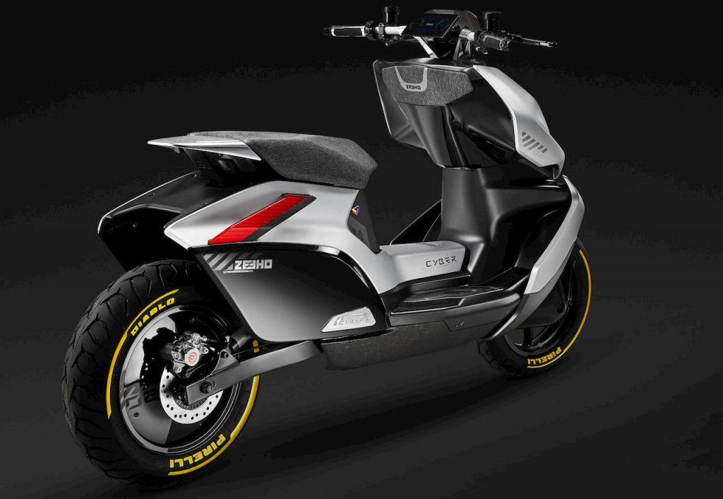 Zeeho Cyber Concept rear quarters