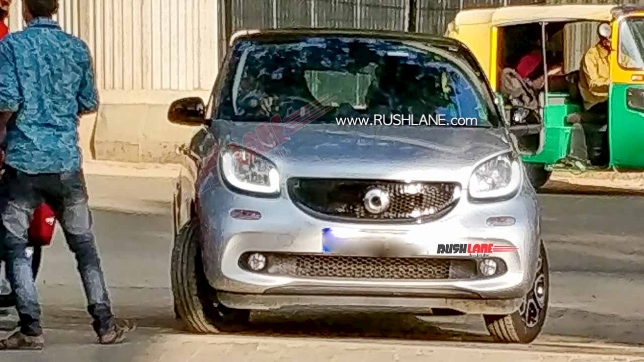 smart forfour (smart electric car) front India
