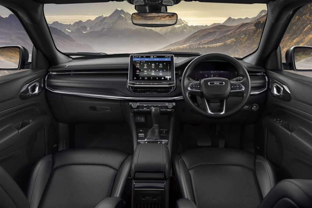 2021 Jeep Compass facelift interior