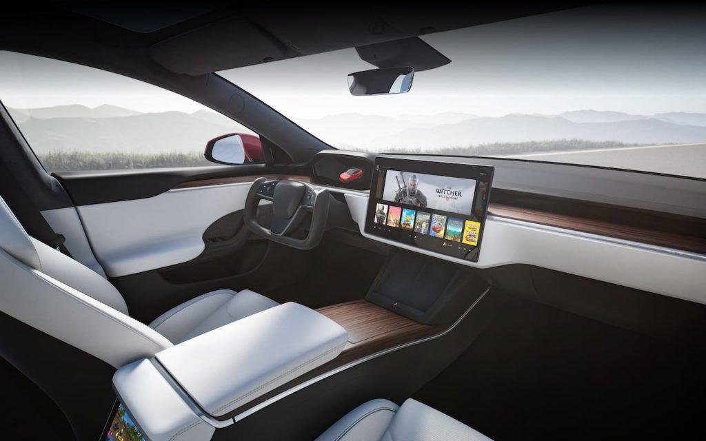 2021 Tesla Model S facelift interior 2022