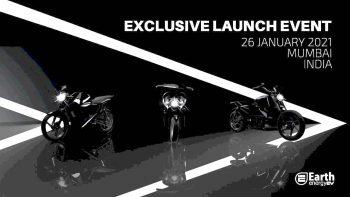 Earth Energy EV to unveil EvolveR cruiser bike & EvoleZ scooter tomorrow