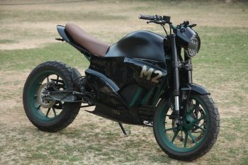 Delhi-based 4rge bikes presents a wicked custom electric motorcycle
