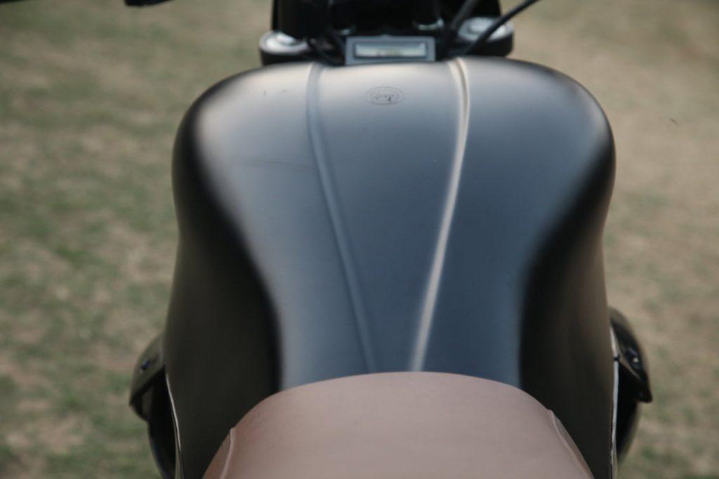 M2 electric bike fuel tank