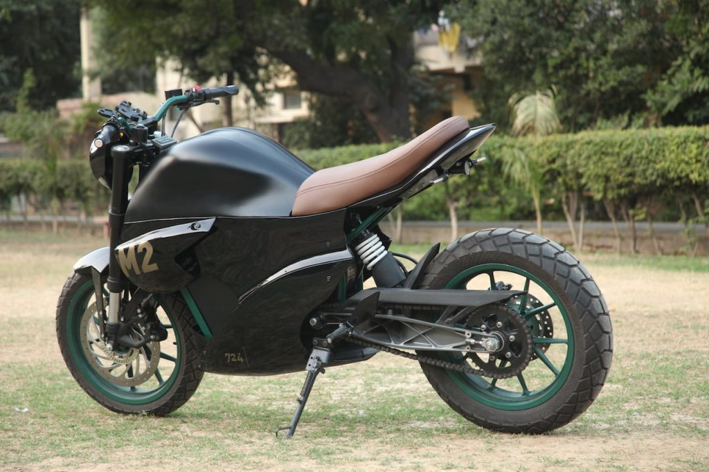 M2 electric bike left side