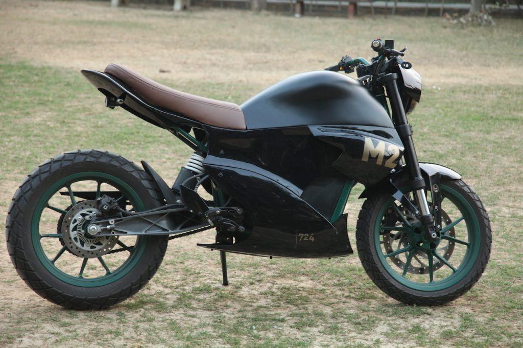 M2 electric bike side profile Vikram Mishra