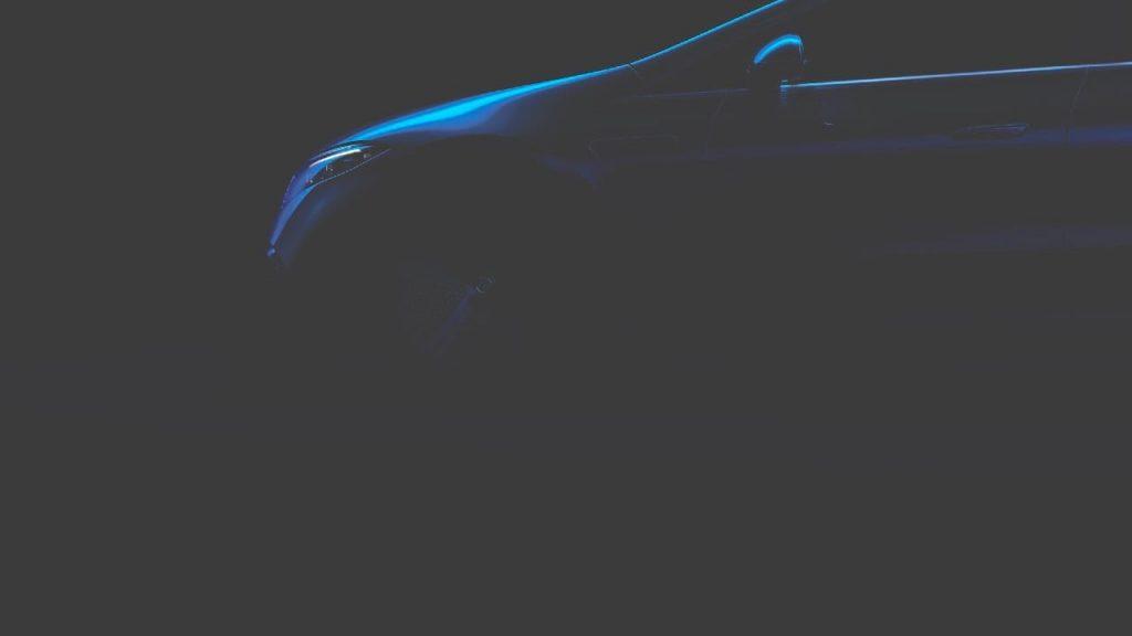 Mercedes EQS wheel teaser