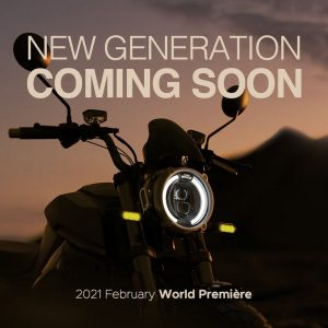 New 2021 Super Soco TC headlamp teaser