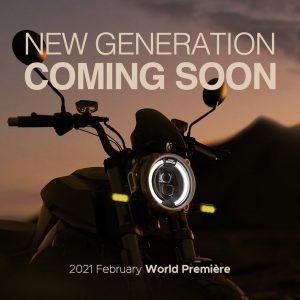 New 2021 Super Soco TC headlamp teaser