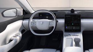 Nio ET7 dashboard driver side interior