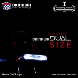 Okinawa Dual electric delivery scooter teaser