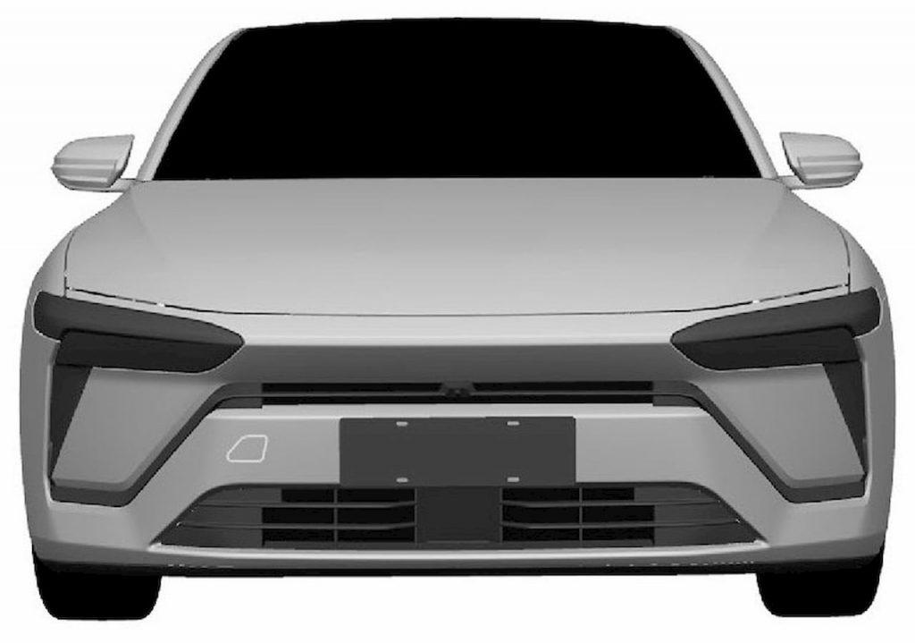 Production Nio sedan front