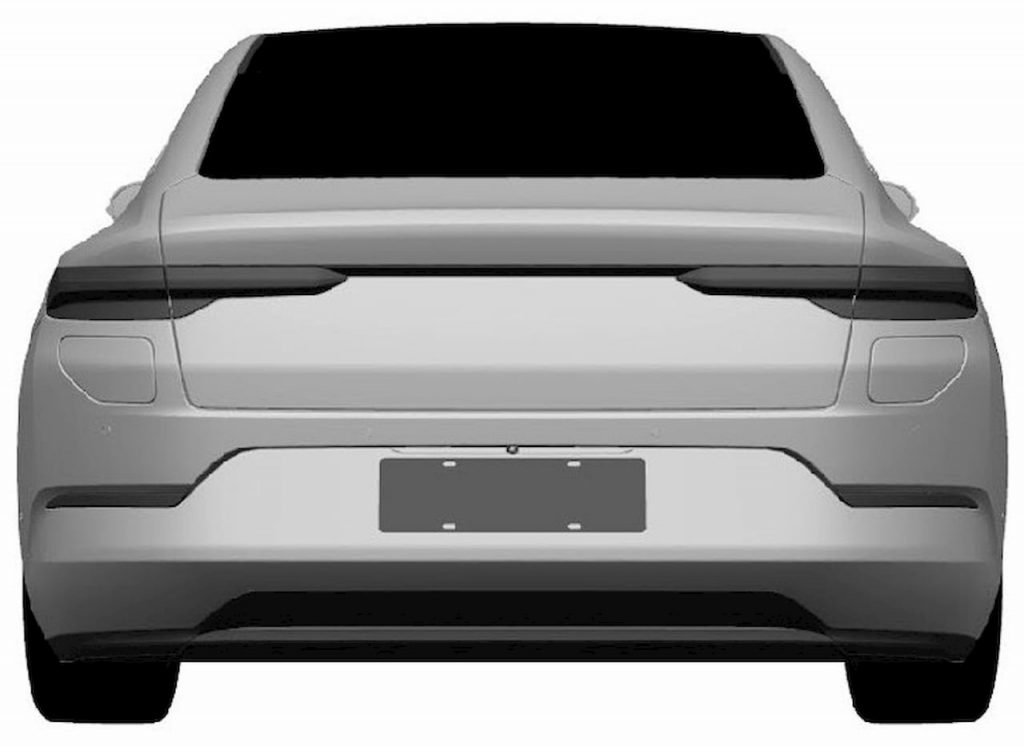 Production Nio sedan rear
