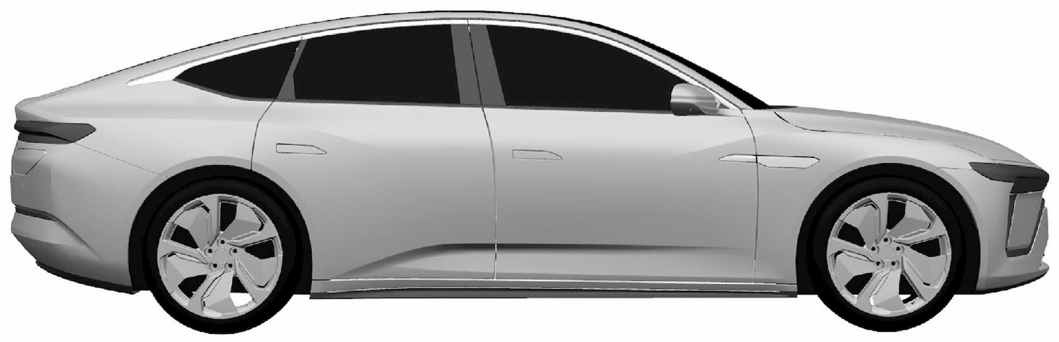 Production Nio sedan side