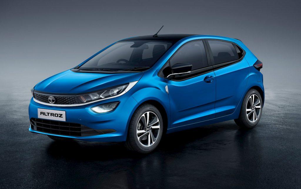 Tata Altroz iTurbo turbo petrol Harbour Blue