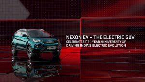 Tata Nexon EV first anniversary