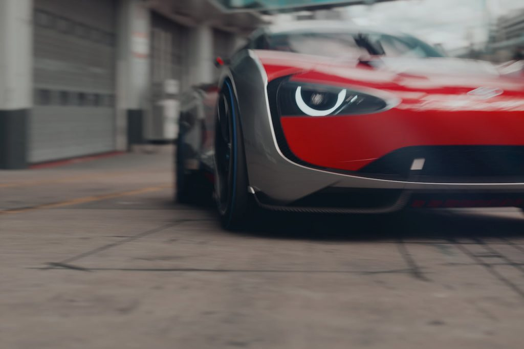 Toyota Concept BG GT dynamic