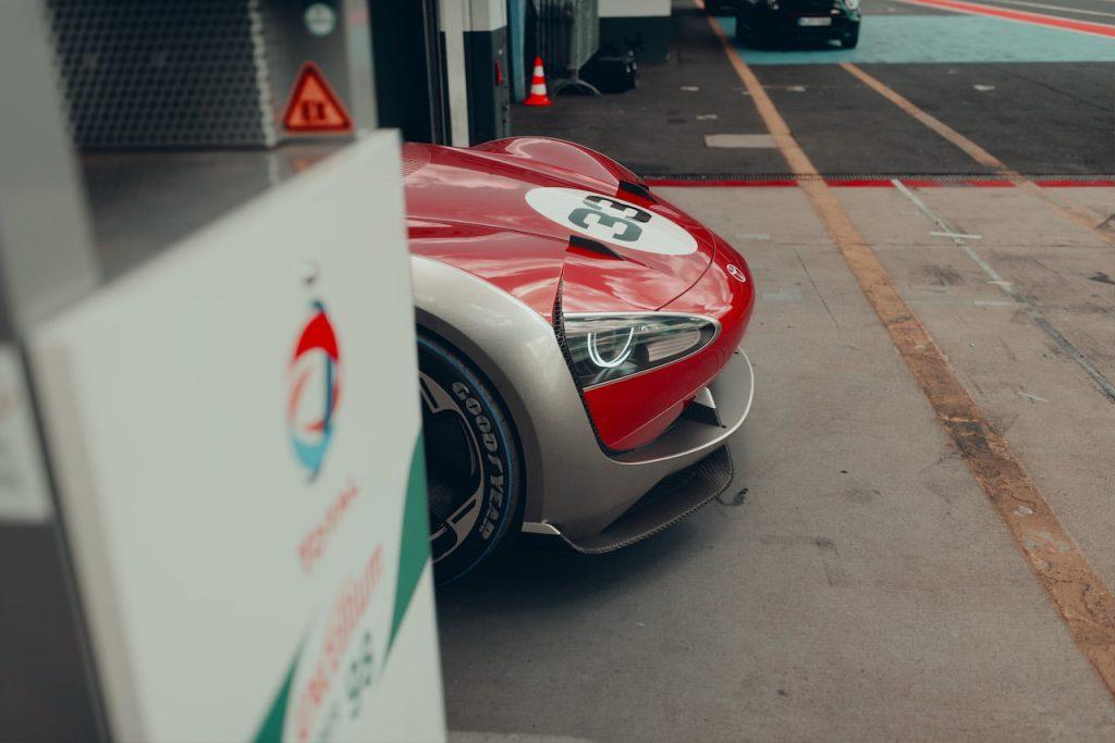 Toyota Concept BG GT front teaser