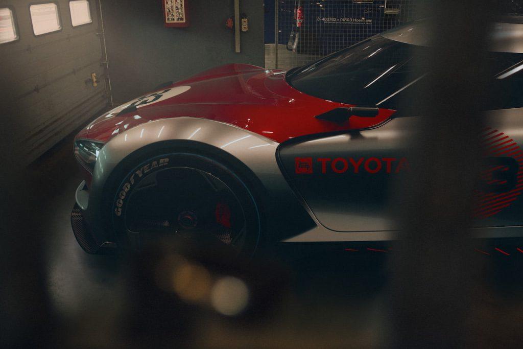 Toyota Concept BG GT garage