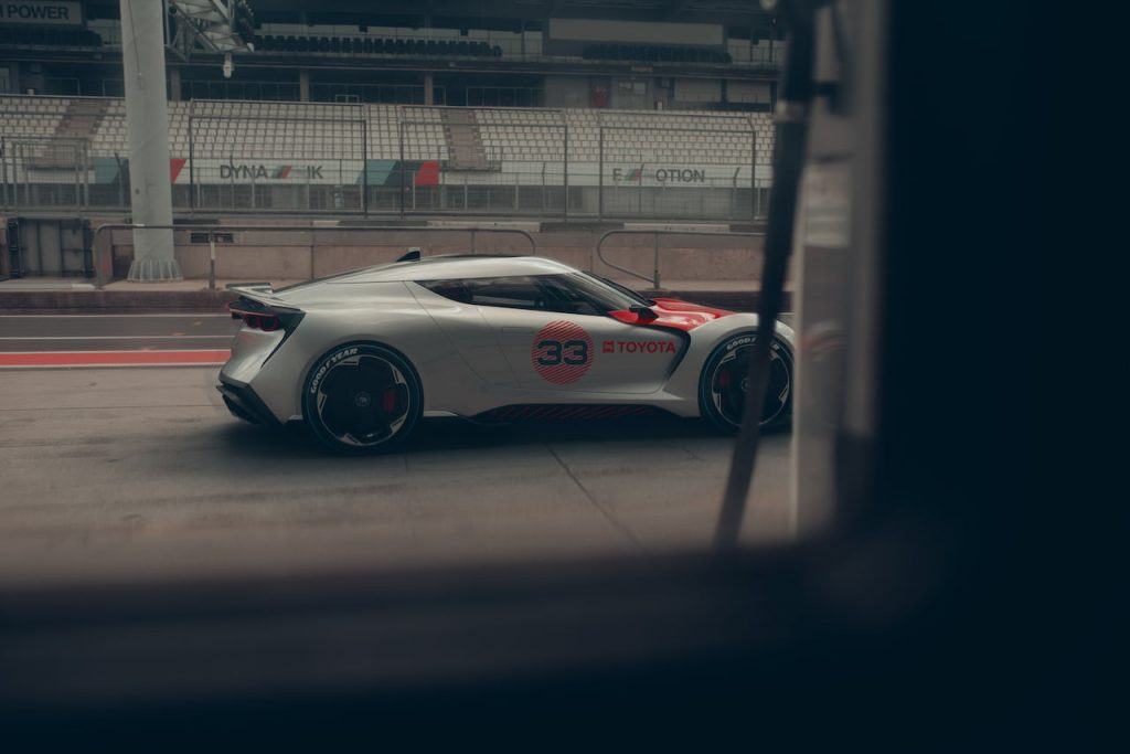 Toyota Concept BG GT race track