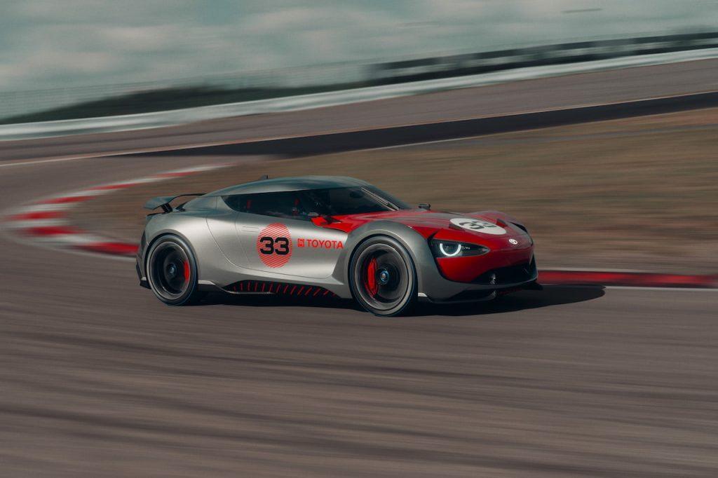 Toyota Concept BG GT race track dynamic