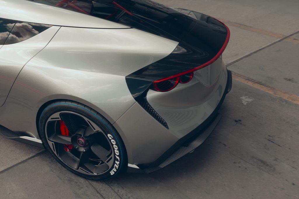 Toyota Concept BG GT rear details