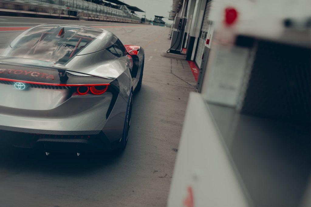 Toyota Concept BG GT rear race track